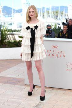 Elle Fanning en Chanel