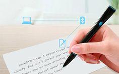 Stylo de haute technologie convertit automatiquement votre texte écrit en fichiers électroniques