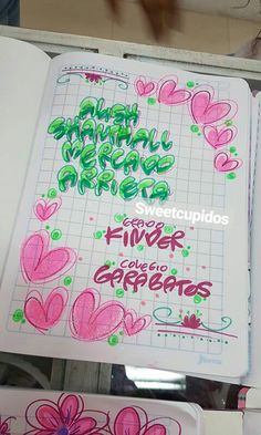 Typography, Lettering, Caligraphy, Notebooks, Bullet Journal, Study, School, Pattern, Stuff Stuff