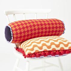 Deryn Relph, Petals And Pixels Cushions