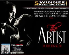 The Artist 12/29/12 - Sweet and fun. Artistically done (pun not intended). Gets a little slow in spots.