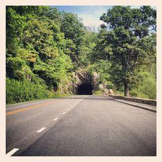 Skyline Drive Shenandoah National Park Virginia Blue Ridge Mountains