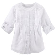 Pin-Tucked Top | Carters.com