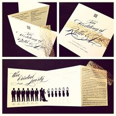 Unique Wedding Programs By Tie That Binds
