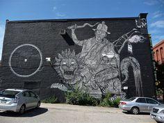 Graffiti/street art by 2501 - Philadelphia, PA 2013