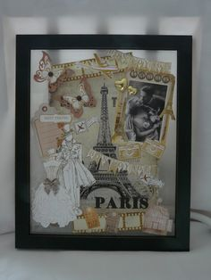 Geldgeschenk  Hochzeit Deko Collage von Plan B auf DaWanda.com