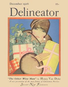 Delineator, December 1926 Art Print by Helen Dryden at King & McGaw