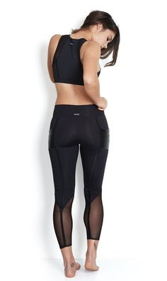 Adriana Hippocket Legging Black