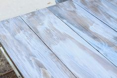 Easy tutorial on how to create a weathered wood gray finish. Make new wood look like old weathered wood or refinish your furniture with this wood finish. Weathered Wood, Barn Wood, Paint Furniture, Furniture Refinishing, Furniture Design, Furniture Makeover, Whitewash Furniture, Distressed Wood Furniture, Painted Furniture