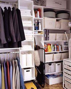 Closet Organization Tips - Multi Purpose Closet - Click Pic for 36 DIY Closet Organizer Ideas