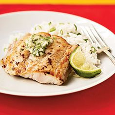 Superfast Fish Recipes | Broiled Red Snapper with Ginger-Lime Butter | CookingLight.com