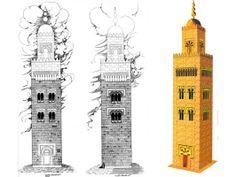 Alminar de la Mezquita de Códoba de Abd al-Rahman III.