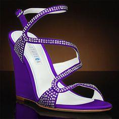 Splendor by David Tutera - Dyed Grape Purple Wedding Shoes 45116aad6cdc