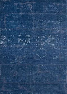 Louis De Poortere Fading World Rug - Windsor Blue