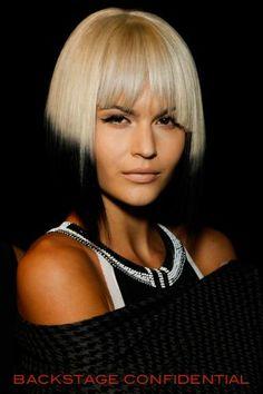 Spring Summer 2014 hairstyle trends: Carmen Mar Valvo