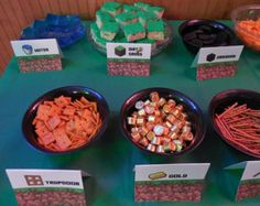 ALL PDF Minecraft Birthday Party Ultimate Decoration Package