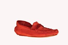Mocassino Swamp Canvas Rosso
