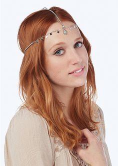 Wonderlust Heart Head Chain | Hair Accessories | rue21