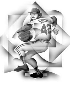 Bruce Sutter St. Louis Cardinals 1981 - 1984