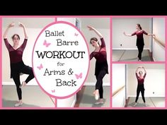 Ballet Barre Workout for Arms & Back | Kathryn Morgan - YouTube