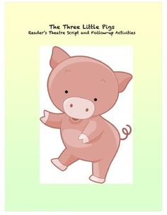 This Three Little Pigs reader's theatre script is especially written for emergent readers with simplified language and repetition. Also includes fo. Kindergarten Literacy, Classroom Activities, Book Activities, Readers Theater, Three Little Pigs, Emergent Readers, Beginning Of The School Year, Readers Workshop, Kids Reading