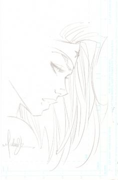 Michael Turner Wonder Woman Sketch Comic Art