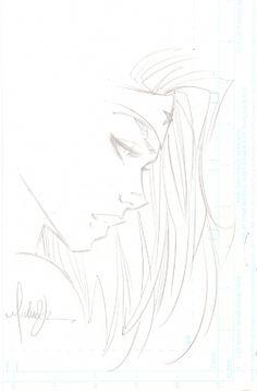 Michael Turner Wonder Woman Sketch Comic Art
