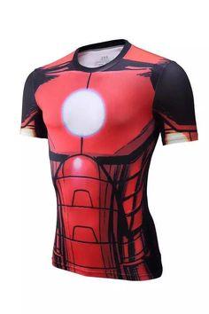 a06a0282 New 2016 17 Comic Superhero Compression Shirt Superman Captain America T  Shirt Men Cossfit T-Shirt Brand Clothing