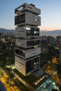 Energy Living Building M Group Architects Medellin - Architecture and Home Decor - Bedroom - Bathroom - Kitchen And Living Room Interior Design Decorating Ideas - Architecture Design, Architecture Antique, Architecture Magazines, Modern Architecture House, Facade Design, Futuristic Architecture, Modern Buildings, Residential Architecture, Modern House Design