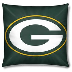 Green Bay Packers NFL Toss Pillow by The Northwest - NFL Square Pillow $21.95