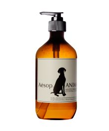 Natural shampoo for dog by Aesop / Un chien propre comme un sou neuf ! Pet Shampoo, Body Cleanser, Aesop, Melaleuca, Pet Grooming, Tea Tree Oil, Pet Gifts, Body Wash, Pet Care