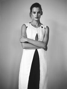 brisé: amanda murphy by annemarieke van drimmelen for interview germany october 2015 | visual optimism; fashion editorials, shows, campaigns & more!