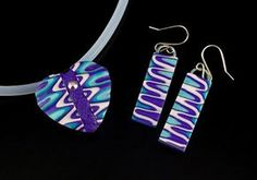 2 Good Claymates: Sharing the Love - A Ripple Heart and Earrings Tut...
