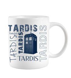 Who mit 3D Tardis im Innern Kaffeetasse Doctor Who Tasse Kaffeebecher Dr
