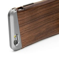 Leapcover® DIY Phone Case Made By Wood + Aluminium Alloy for Iphone6&iphone6s