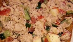 Tonijnsalade Potato Salad, Toast, Food And Drink, Potatoes, Ethnic Recipes, Lunches, Salads, Lunch Ideas, Food And Drinks