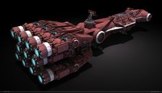 Corellian CR90E - D by dlamont.deviantart.com on @deviantART