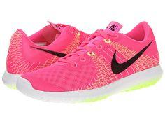 Nike Flex Fury Pink Pow/Liquid Lime/Volt/Black - 6pm.com