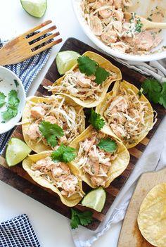 Shrimp and Cabbage Crunchy Tacos - Bev Cooks