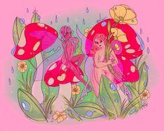 Fairy Circle | Magical Cottagecore Aesthetic Illustration Fine Art Matte Print