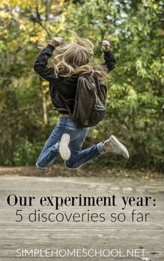 Our experiment year: 5 discoveries so far - Simple Homeschool