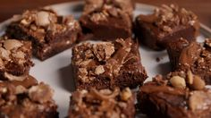 Nutella-Stuffed Brownies  - Delish.com