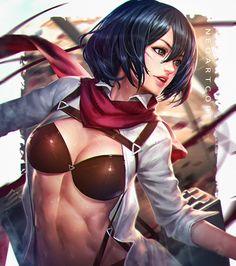 Mikasa by NeoArtCorE.deviantart.com on @DeviantArt