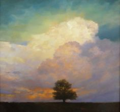 Stephen Bach - Landscape Paintings - reminds me of the tree I call Joshua's Tree in front of my house.  Beautiful.