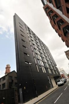 Winner of Best Commercial Building at the Brick Awards 2011. The Holiday Inn Express in Manchester was designed by Stephenson Bell Architects. Using our Blockleys Smooth Black Facing brick. See the judges comments on the following link: http://www.brick.org.uk/2011/11/best-commercial-building-7/