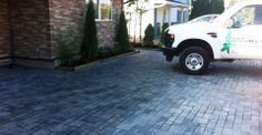 Paved driveway in Vancouver by Beaver Landscape