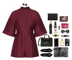 """""""Because she is smart and wise"""" by xoxomuty ❤ liked on Polyvore featuring Valentino, Yves Saint Laurent, Chanel, Rolex, Gucci, Bobbi Brown Cosmetics, Givenchy, Casetify, Christian Dior and Prada"""