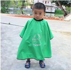 BaBy Cartoon Salon Apron Children Barber Cape Kids Hair Cutting Capes Cloth Cover Professional Styling Tools Hairdresser