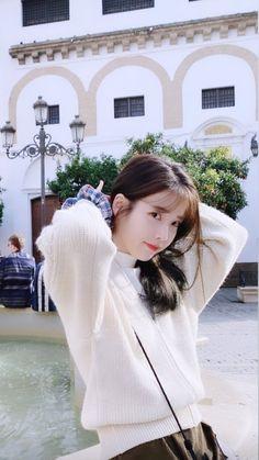 Korean Actresses, Korean Actors, Korean Celebrities, Pretty Korean Girls, Korean Beauty Girls, Iu Twitter, Chica Cool, Iu Fashion, Ulzzang Girl