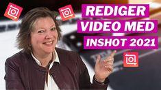 Hvordan redigere video på mobilen med InShot 2021 Youtube, Youtubers, Youtube Movies
